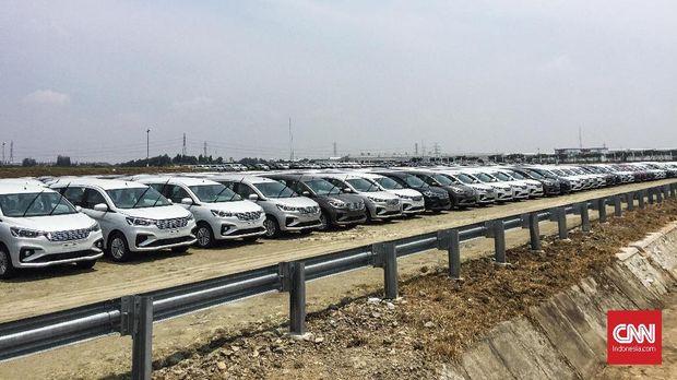 Ertiga pertama kali diproduksi di Indonesia di pabrik Suzuki di Tambun II sejak 2012. Ekspor perdana Ertiga dilakukan pada 2013.