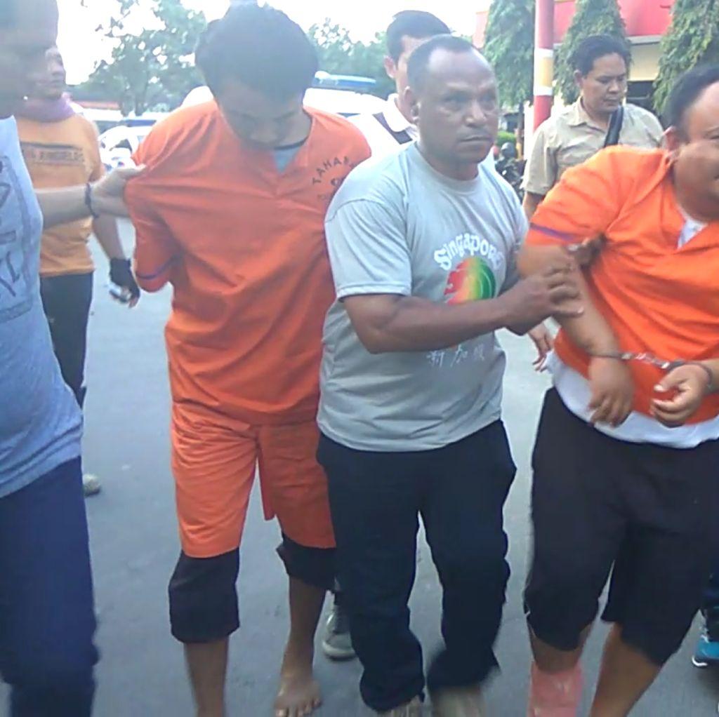 Ini Tampang Pembunuh Sekeluarga yang Dibuang ke Sungai di Sumut
