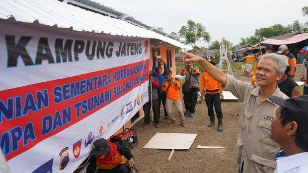 Pembangunan 'Kampung Jateng' untuk Korban Gempa Palu Diapresiasi