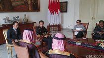 Bertemu Menlu Arab Saudi, Jokowi Sampaikan 3 Poin Penting