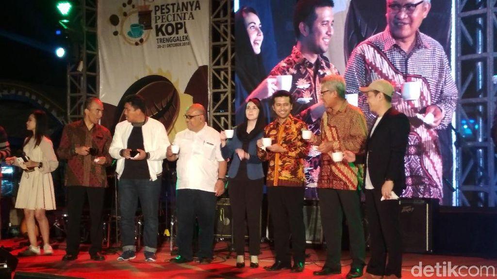 Kopi Lingkar Wilis yang Unik Ditampilkan di Festival Kopi Trenggalek
