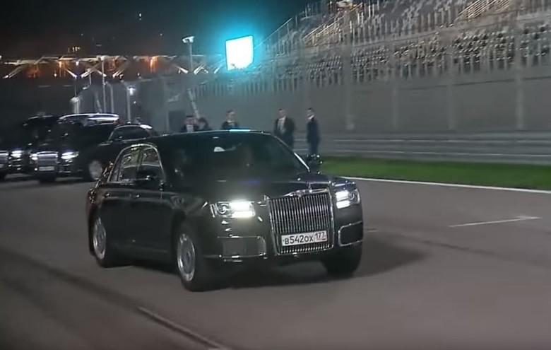 Putin Ajak Presiden Mesir Putari Trek Formula 1. Foto: Istimewa
