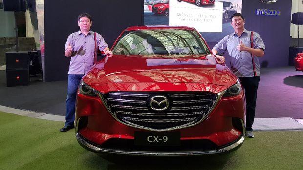Mazda CX-9 menyuguhkan mesin SKYACTIV-G 2.5 Turbo.
