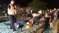 Kereta Terbalik di Taiwan, 18 Orang Tewas