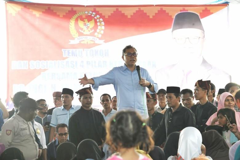 Di Depan Para Nelayan, Ketua MPR Sampaikan Pesan Pancasila Ini