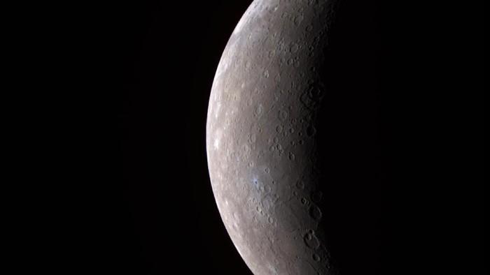 Planet Merkurius (Foto: NASA/Johns Hopkins University Applied Physics Laboratory/Carnegie Institution of Washington via Getty Images)