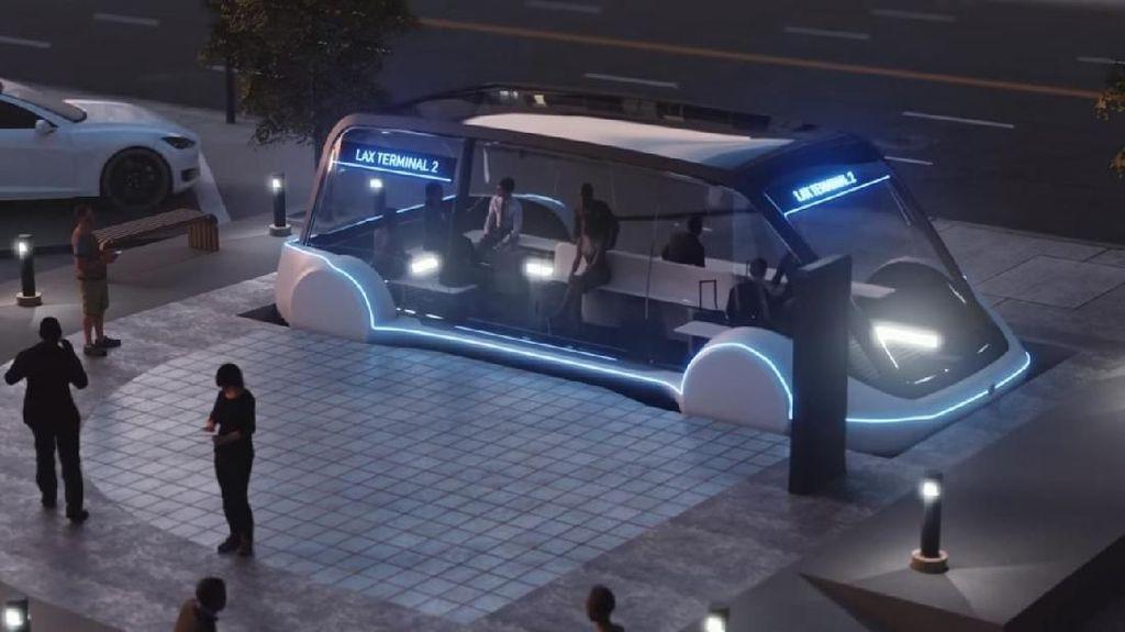 Proyek Kereta Cepat Elon Musk Hampir Selesai, Kapan Dibuka?