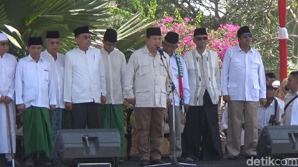 Napak Tilas Resolusi Jihad, Prabowo: Bukti Ulama Ikut Berjuang