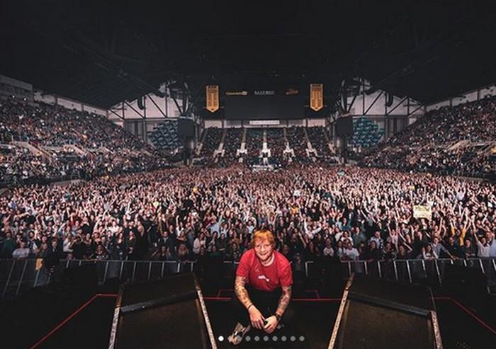 Foto: Instagram Ed Sheeran
