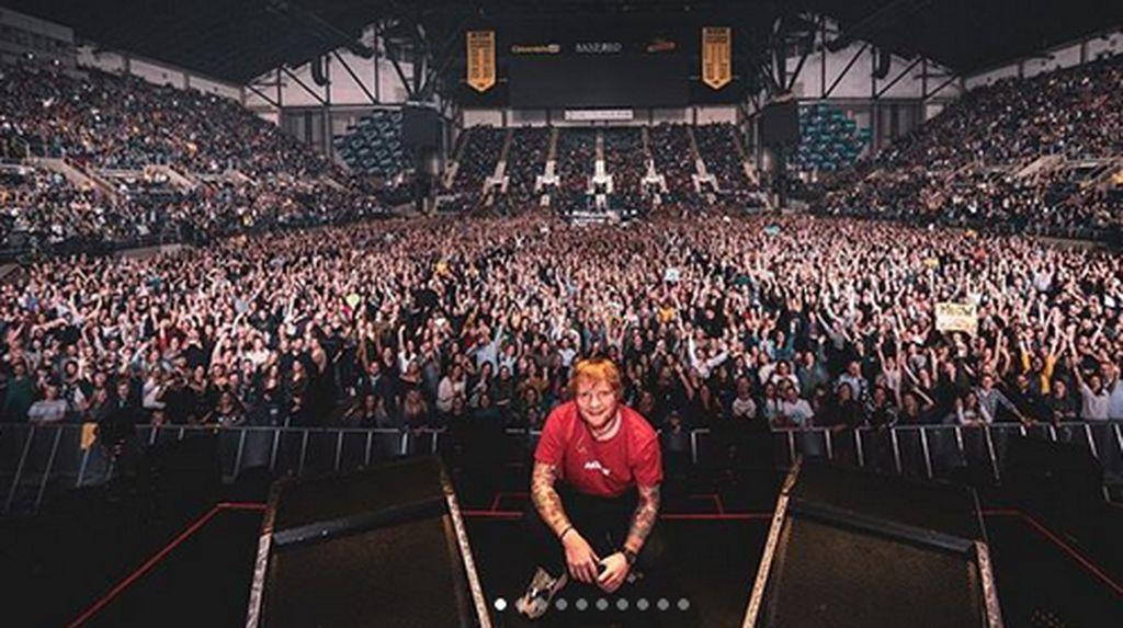 Proses Penjualan Tiket Ed Sheeran Dikeluhkan, Ini Kata Tokopedia