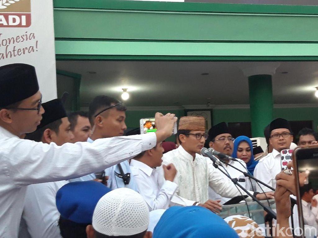 Sandi Sebut Pembangunan Era Jokowi Baik, Tapi Tak Berikan Dampak