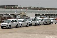 Ekspor Suzuki Ertiga.