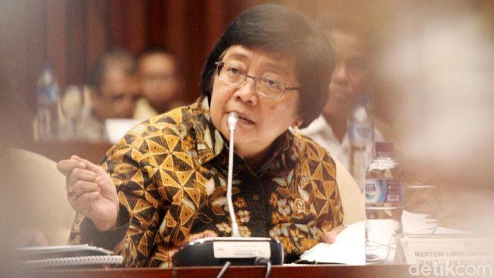 Menteri Lingkungan Hidup dan Kehutanan (LHK) Siti Nurbaya/Foto: Lamhot Aritonang