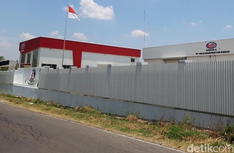 Pabrik Esemka di Boyolali Foto: Ragil Ajiyanto/detikOto