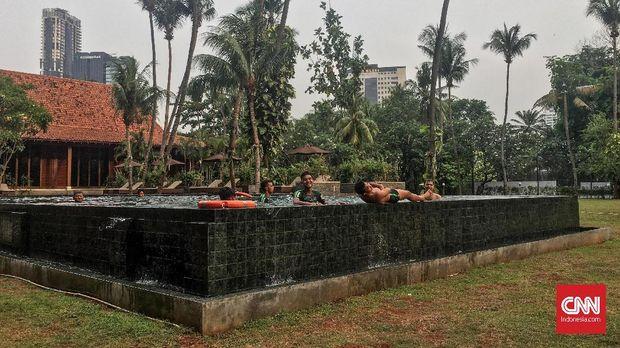 Timnas Indonesia U-19 kembali berlatih di lapangan pada Selasa pagi.