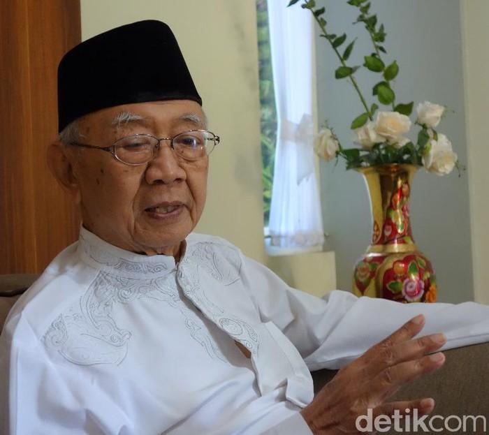 Foto: Enggran Eko Budianto/K.H. Dr. Ir. Salahuddin Wahid atau Gus Sholah meninggal dunia pada, Minggu (2/2/2020) malam.