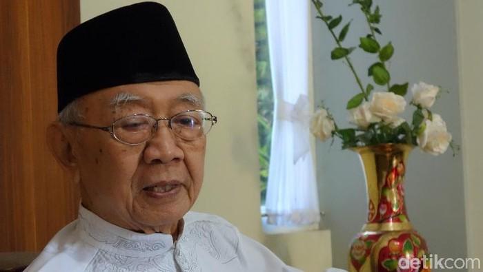 KH Salahuddin Wahid atau Gus Solah. (Enggran Eko Budianto/detikcom)