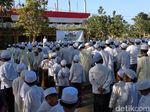 Beda, Upacara Hari Santri di Probolinggo Gunakan 3 Bahasa