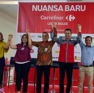 Menjawab Tantangan, Carrefour Lebak Bulus Hadirkan Nuansa Baru