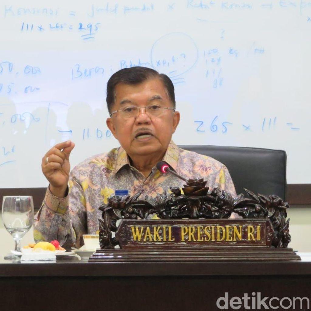 JK Anggap 4 Pemerintahan Ikut Tanggung Jawab Selesaikan Kasus HAM