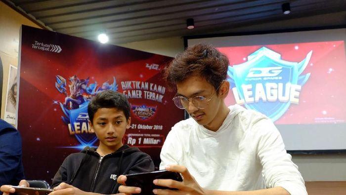 Ilustrasi pertandingan eSport (dok. Telkomsel)