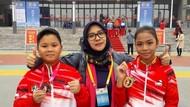 Bunda Ade, Sosok di Balik Adik-Kakak Peraih Medali Wushu di China