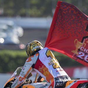Agostini Dukung Marquez Pecahkan Rekornya