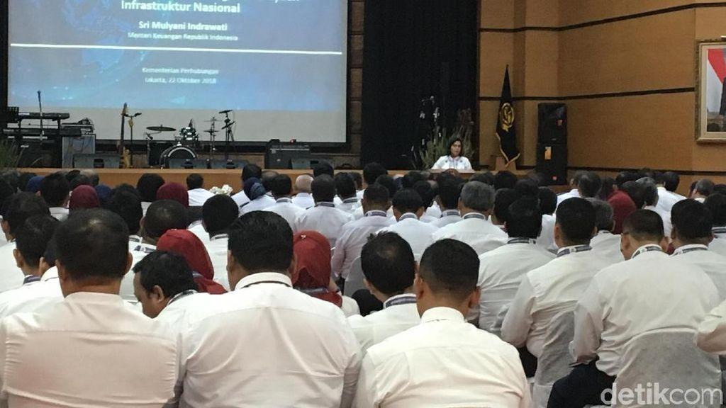 Pidato di Depan PNS Kemenhub, Sri Mulyani Bicara soal Aset Negara