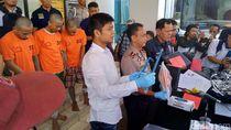 Polisi Tembak Komplotan Pencuri Shower dan Keran di Tangsel