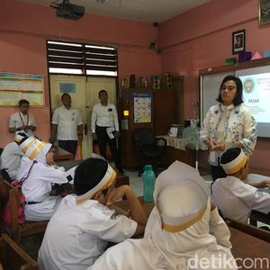 Ragam Pertanyaan Lucu nan Cerdas Anak SD ke Sri Mulyani