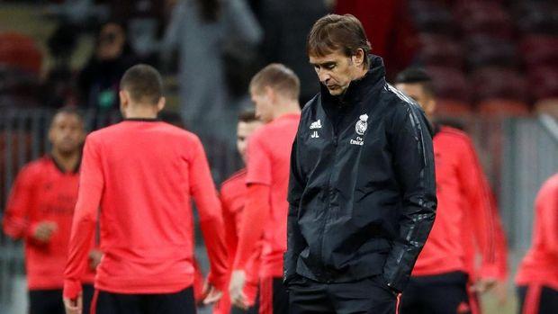 Posisi Lopetegui sebagai pelatih Madrid tengah terancam.