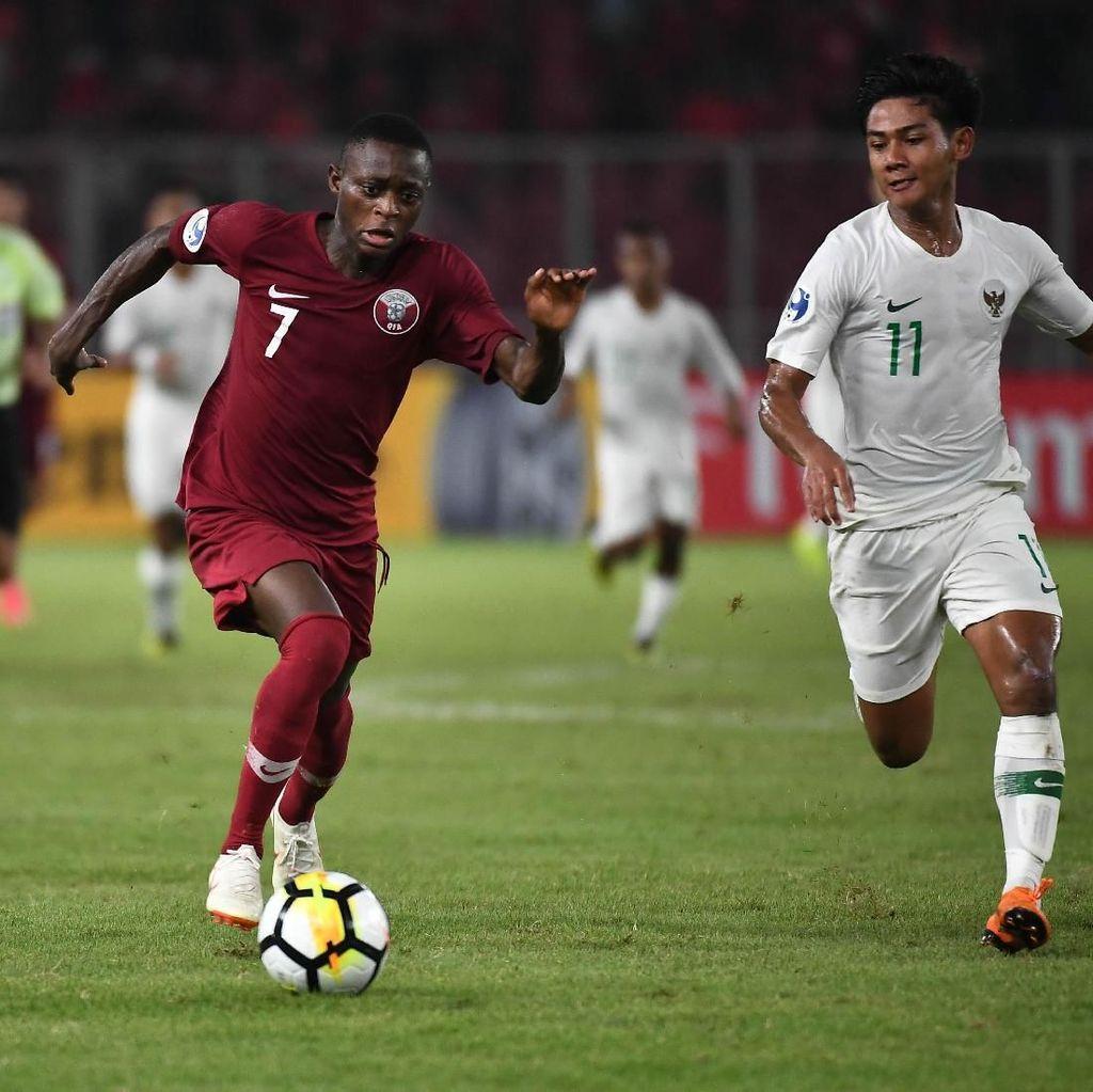 Bikin Hat-trick, Bukti Striker Qatar Ini Tak Takut Teror Penonton di GBK
