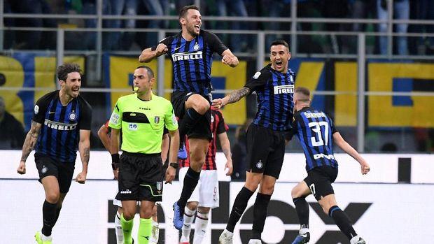 Inter Milan bisa mengejutkan AC Milan. (