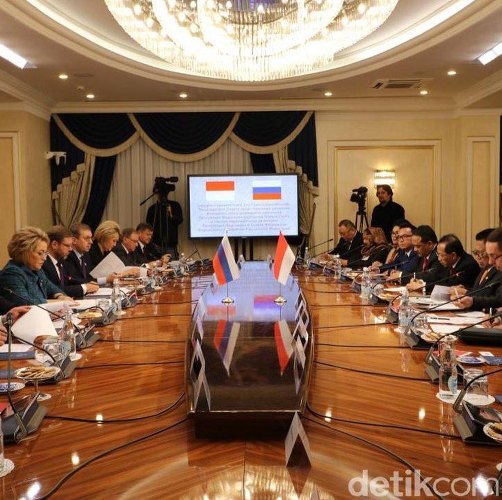 Tandang ke Rusia, Ketua DPD Dorong Sistership Budaya dan Ekonomi