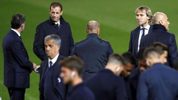 Cristiano Ronaldo menyebut Max Allegri sebagai sosok yang serius namun juga humoris.