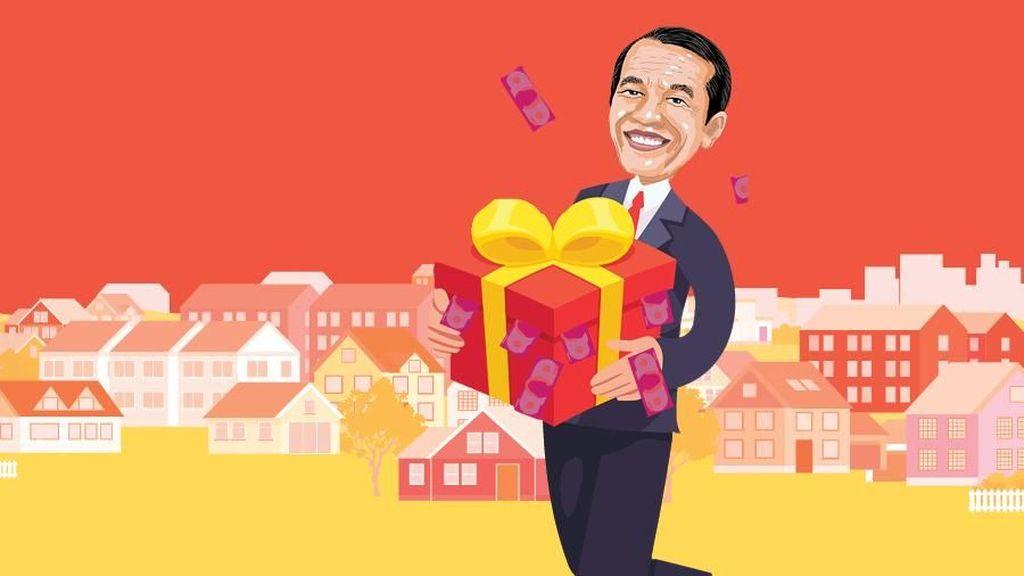 Jokowi Bagikan Rp 3 T Dana Kelurahan, Dipakai untuk Apa?