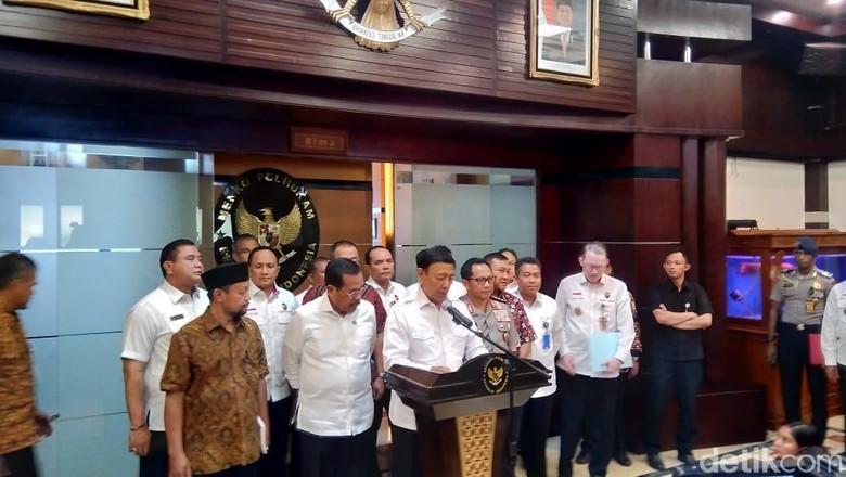 Pernyataan Lengkap Wiranto soal Pembakaran Bendera Berkalimat Tauhid