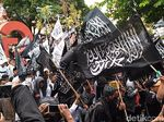 Polisi Usut Pengunggah Video Pembakaran Bendera Tauhid di Garut