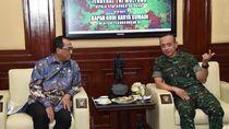 KSAD-Menhub Bahas Lanudad Lampung Dipakai Penerbangan Sipil
