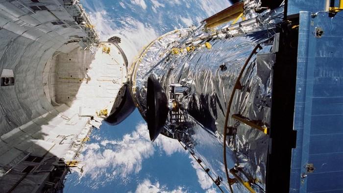 Teleskop Hubble-nya NASA. (Foto: NASA)