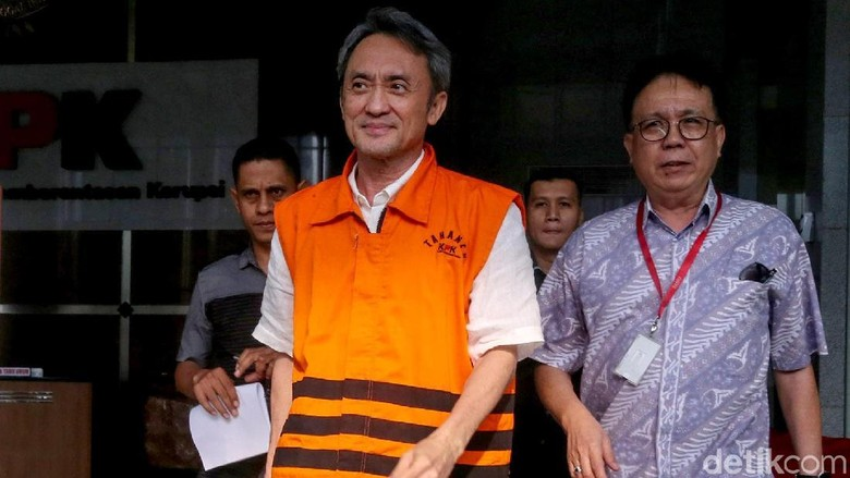 Pemeriksaan Lanjutan Eddy Sindoro Terkait Kasus Suap PN Jakpus