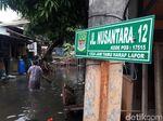 Hujan Deras, 4 RT di Jatimulya Bekasi Banjir