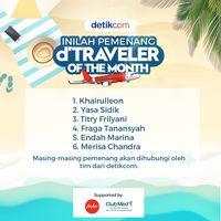 Inilah Pemenang d'Traveler of The Month ke Maldives!