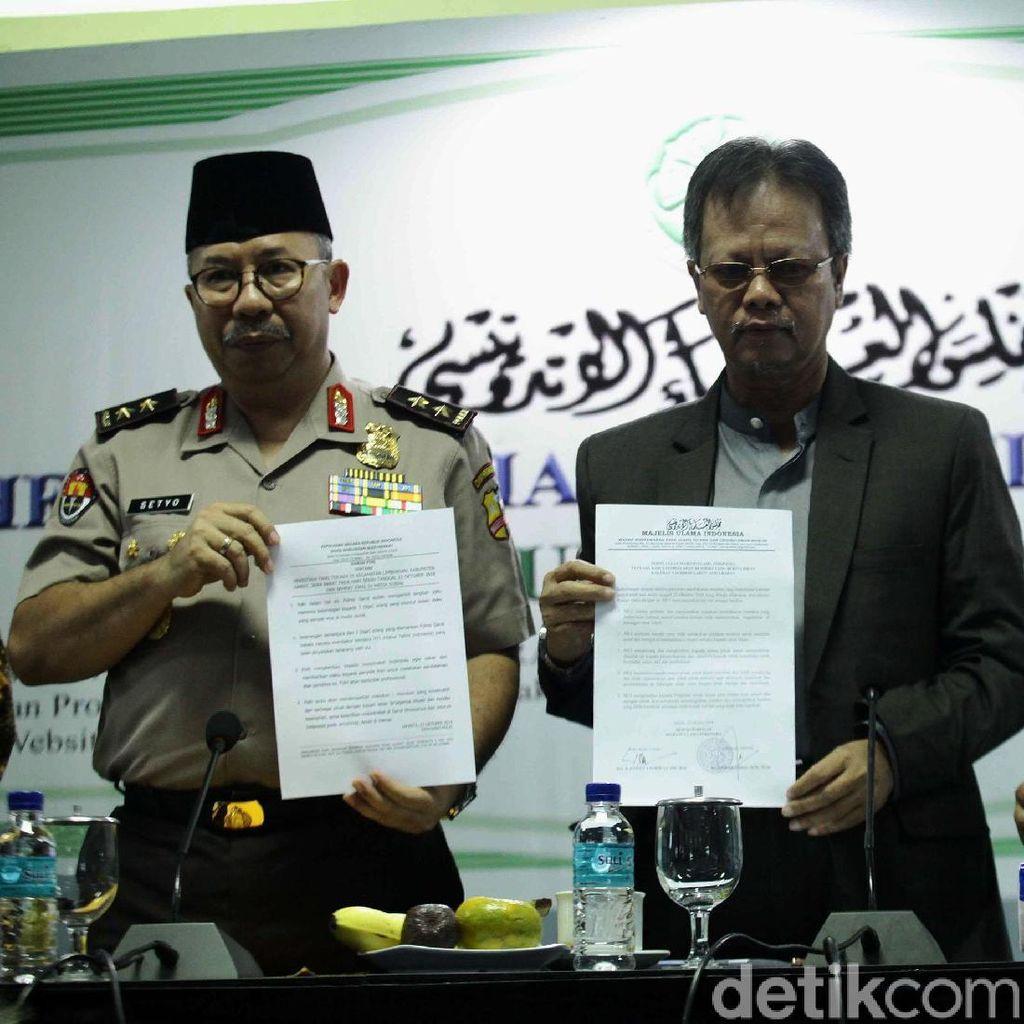 Pernyataan Lengkap MUI Sesalkan Pembakaran Bendera Tauhid