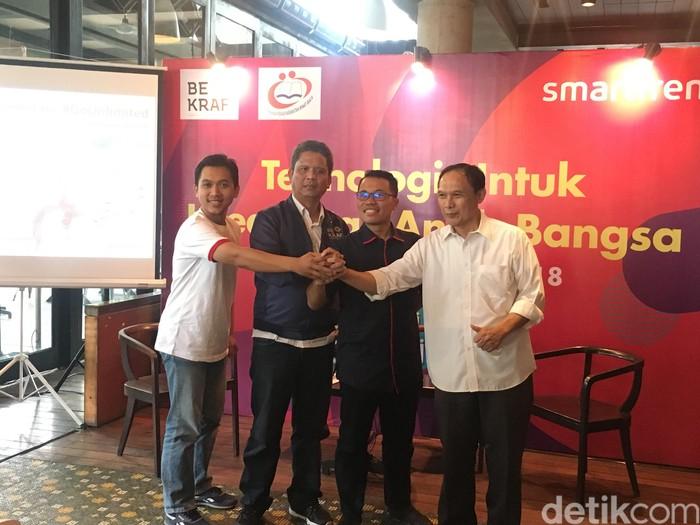 Suasana acara Smartfren. Foto: Agus Tri Haryanto/detikINET