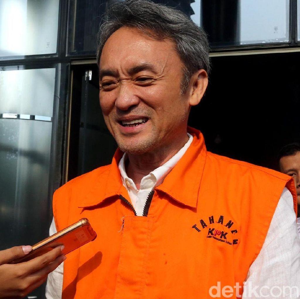 Rumah Sekretaris Eddy Sindoro Digeledah KPK