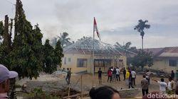 Pemicu Gedung Polsek di Aceh Dibakar Massa Terkait Kasus Narkoba