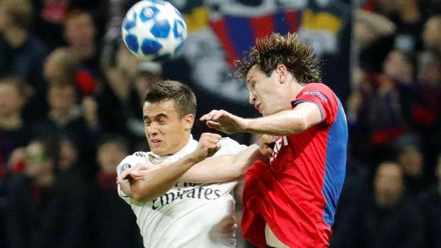 Sergio Reguilon baru satu kali tampil di tim senior Madrid.