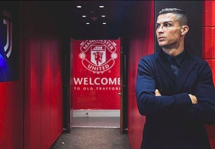 Postingan Ronaldo di Instagram. Foto: Instagram