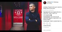 Postingan Ronaldo di Old Trafford Disambut 7 Juta Like